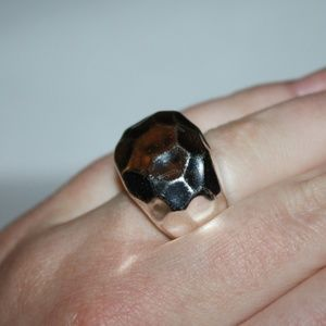 HEAVY sterling silver ring size 8